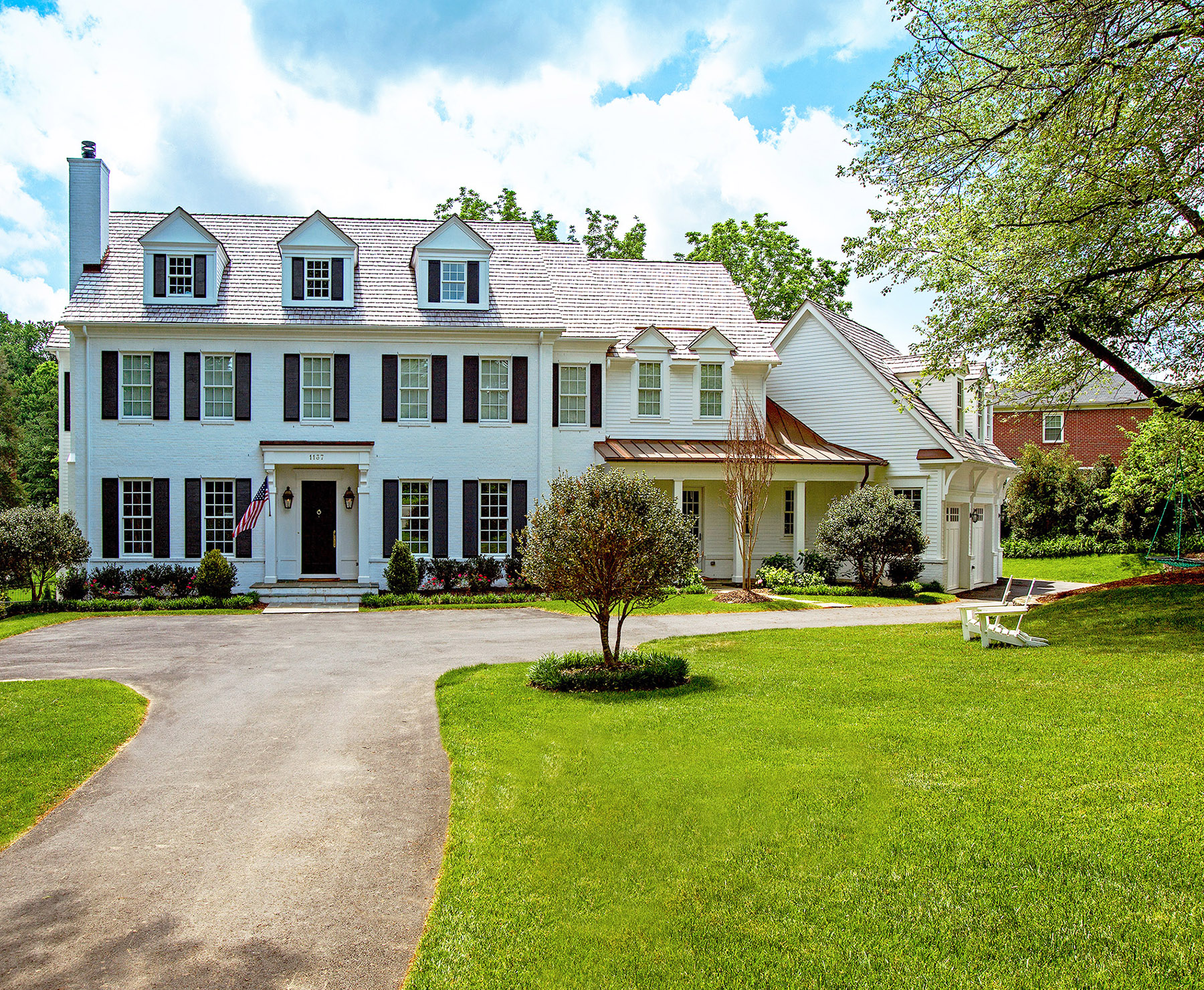 Welcome snead custom homes for Classic colonial homes