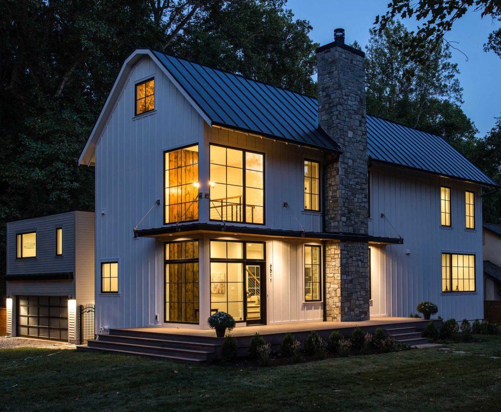 Modern Farmhouse Fireplace Stone